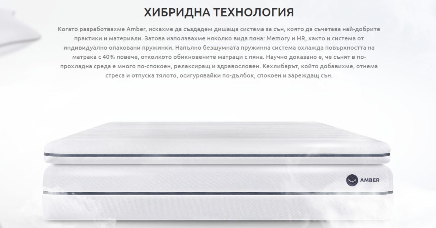 Amber-Origin-Mattress-Hybrid-Technology